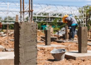 צו מבנה מסוכן - עיבוי עמודי בטון